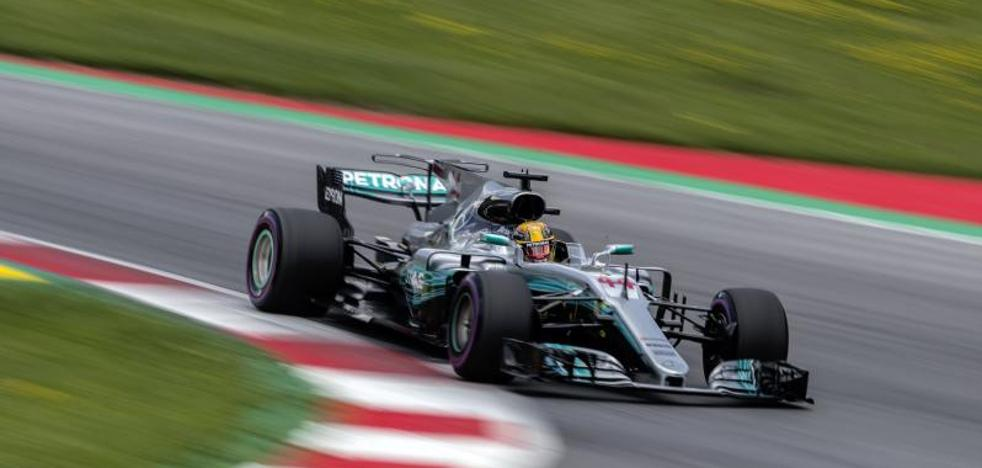 Hamilton domina en Spielberg pero con matices
