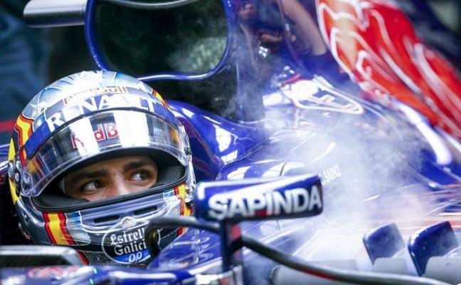 Alta tensión entre Sainz y Red Bull