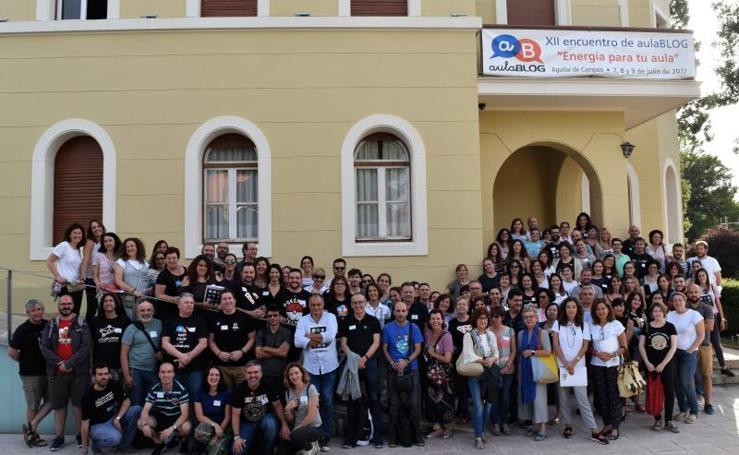 140 profesores de toda España se dan cita en Aguilar de Campoo