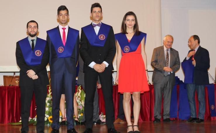 Entrega de premios de fin de carrera de la UVA en el Palacio de Congreso Conde Ansúrez