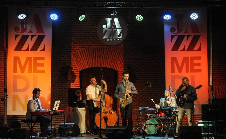 Actuación de Alberto Arteta group en el Festival de Jazz de Medina del Campo