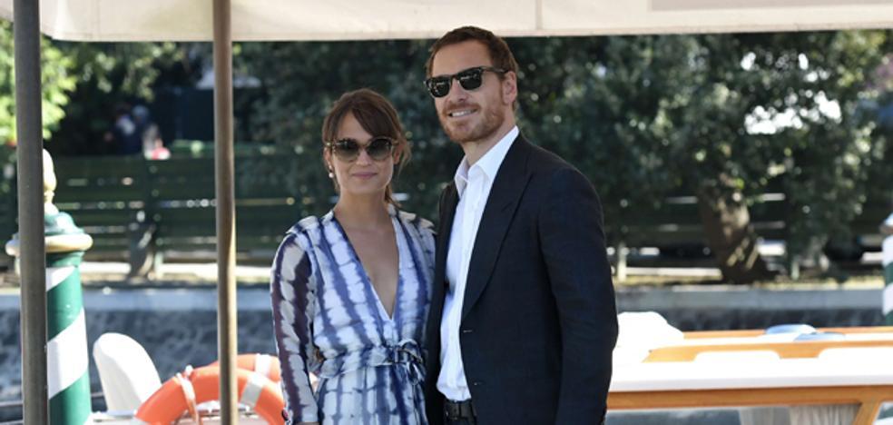 Michael Fassbender y Alicia Vikander, dos famosos más en Formentera