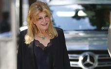 Tita Cervera se deja ver con Manolo Segura, el padre de Borja