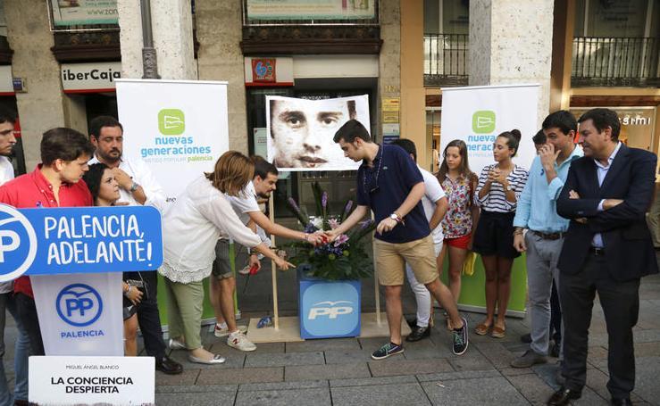Homenaje a Miguel Ángel Blanco en Palencia
