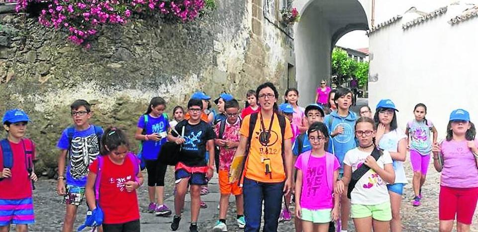 Una treintena de niños conoce Ledesma con las excursiones de las semicolonias