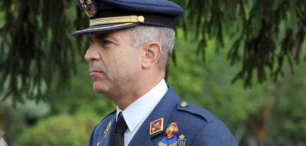 El coronel Rafael Rubio asume el mando de la base aérea de Villanuba