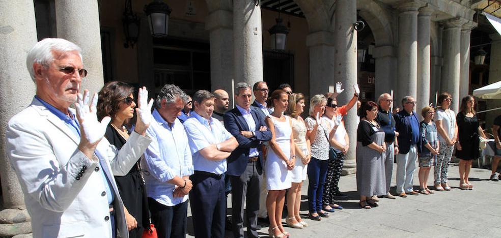 Miguel Ángel Blanco, en la memoria de Segovia