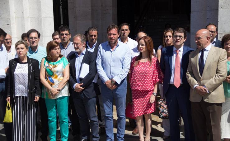 Homenaje a Miguel Ángel Blanco en Valladolid