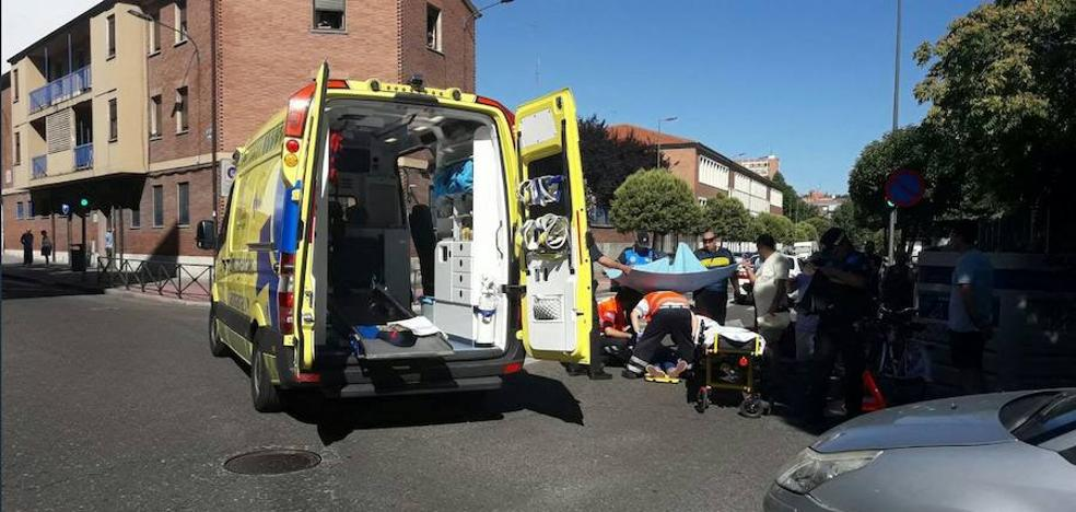 Dos motoristas y un ciclista heridos en tres accidentes de tráfico