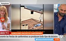 Una pareja mantiene relaciones en un tejado en Sanfermines