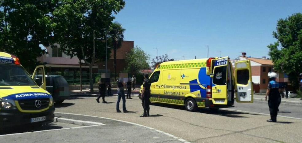 Una reyerta con atropello incluido se salda con tres heridos