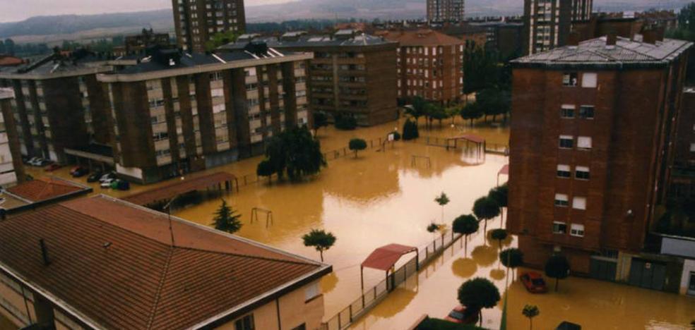 20 años de la tormenta que sepultó un barrio en Palencia