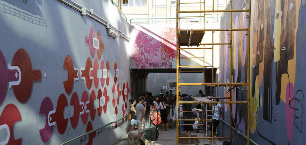 Un túnel saca de la oscuridad al sida en Palencia