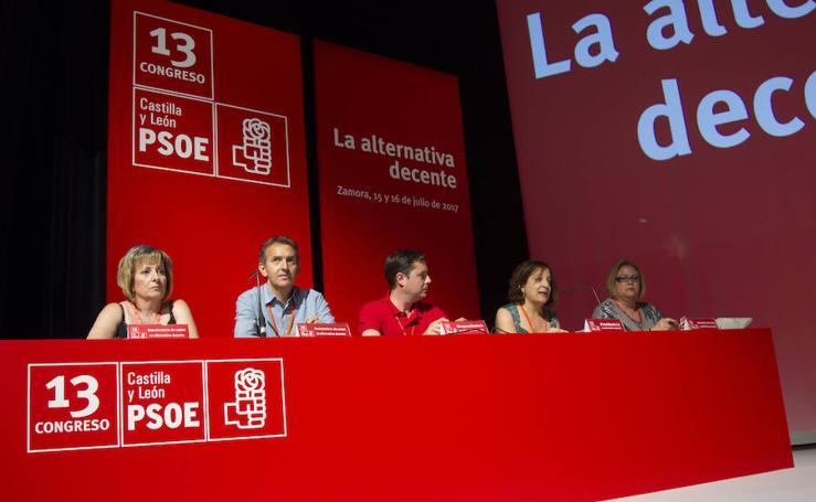 XIII Congreso Regional del PSOE en Castilla y León