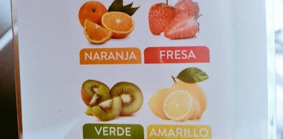 La caja de pajitas que no sabía el nombre de las frutas