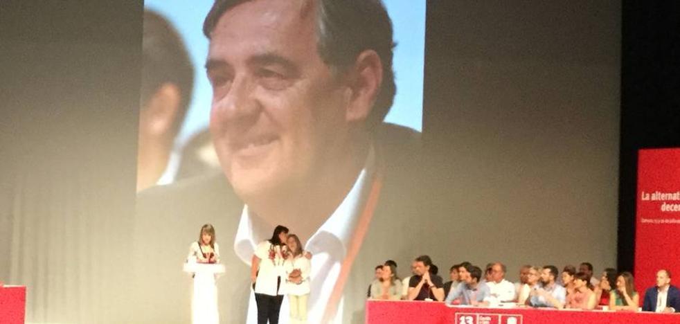 El XIII Congreso Regional del PSOE arranca con un homenaje a Julián Simón De la Torre