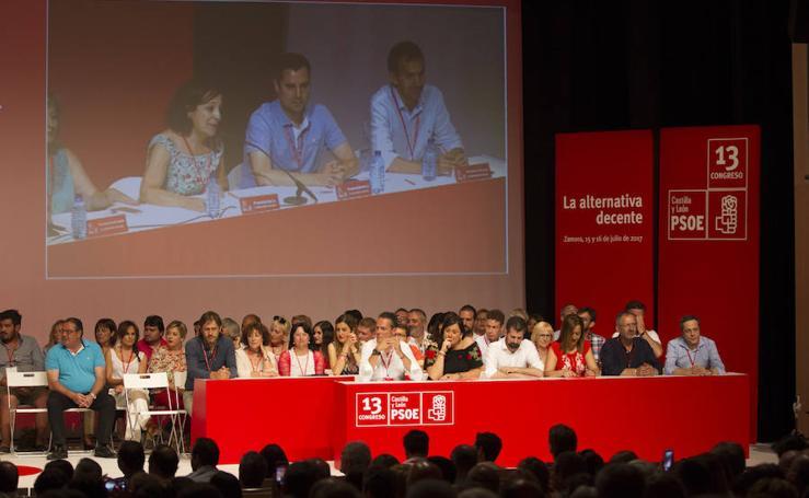 Clausura XIII Congreso Regional del PSOE