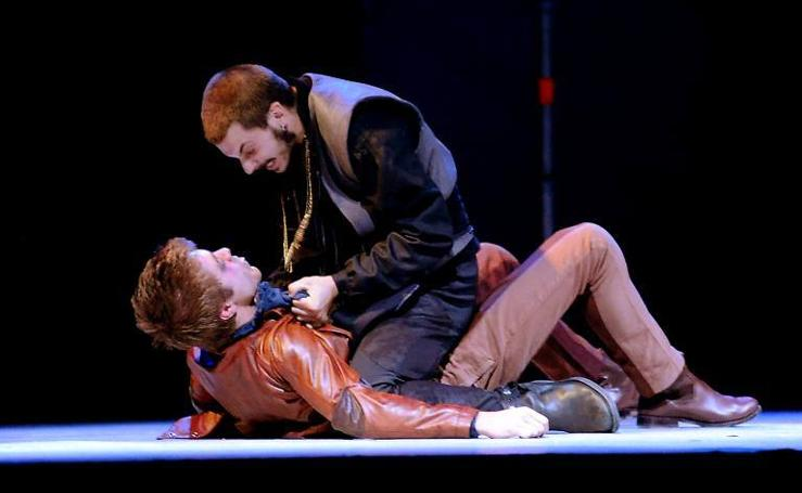 Representación de 'El rufián dichoso' de Miguel de Cervantes en el Festival de Teatro Clásico de Olmedo