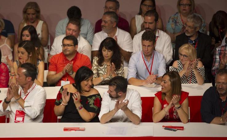 Los rostros de la nueva ejecutiva del PSOE en Castilla y León
