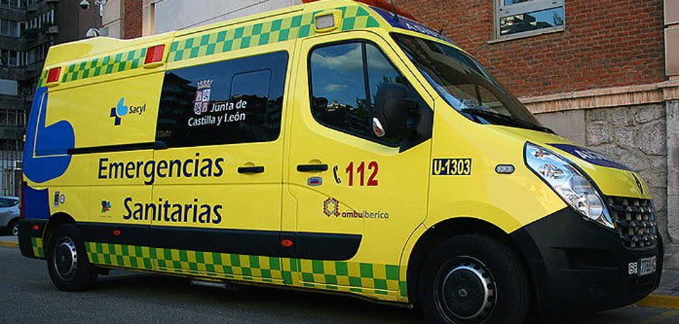 Fallece un motorista en un accidente en Tabanera de Cerrato
