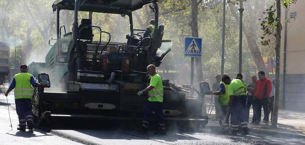 El asfaltado de una zanja cortará de tráfico en Constitución este lunes