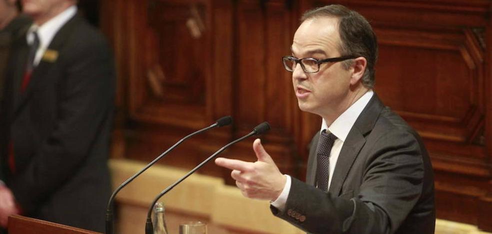 Turull acusa al Gobierno de buscar la división del independentismo para impedir el referéndum