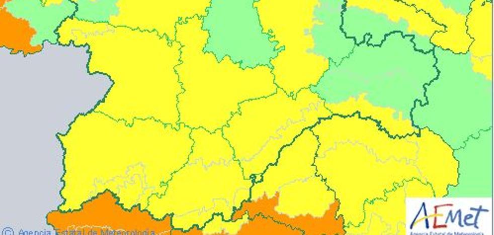 Ocho de las 9 provincias de Castilla y León, en riesgo por altas temperaturas