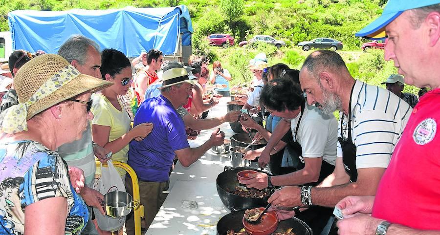 Puente Agudín llama al relevo generacional para mantener la fiesta de la Montaña Palentina