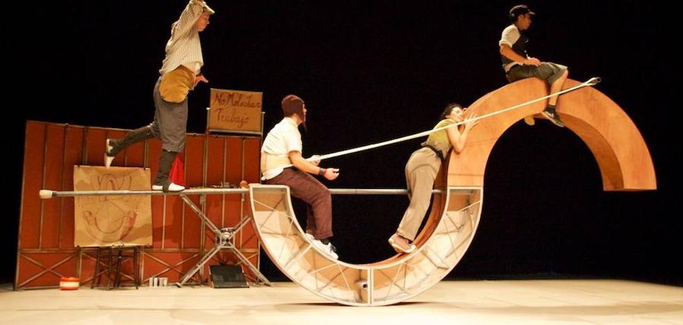 Vaivén Circo estrenará su espectáculo en Palencia