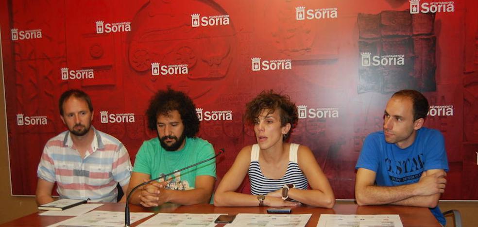 Las Noches Callejeras de Soria incluyen exhibición de skate y maratón de fitness