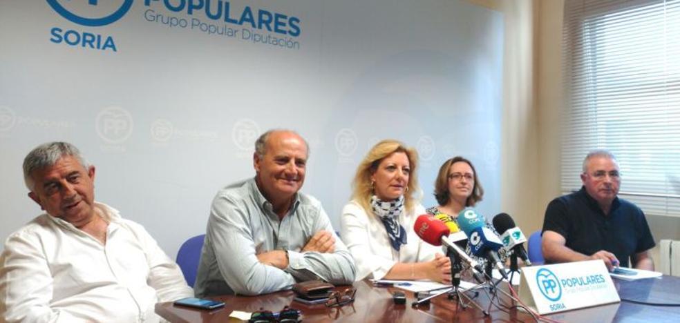 Los diputados críticos con la presidenta del PP de Soria se dan de baja del partido