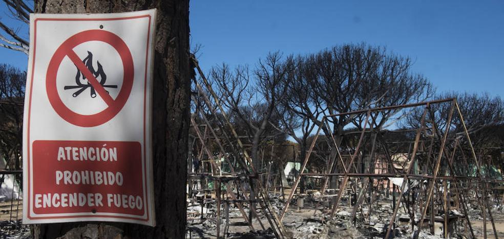 Las llamas calcinan en España casi cinco veces más de superficie que en 2016