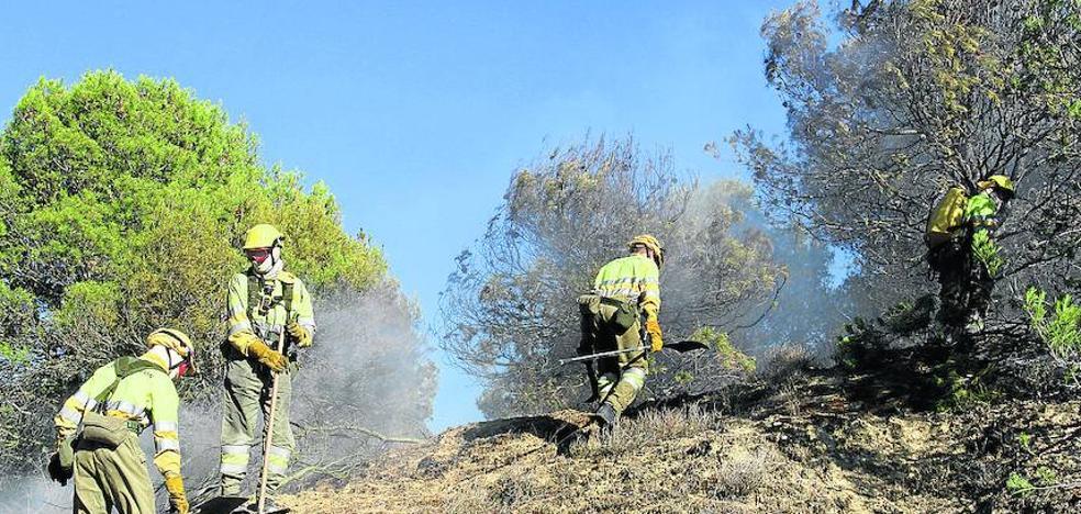El incendio de Torremormojón arrasó 112 hectáreas