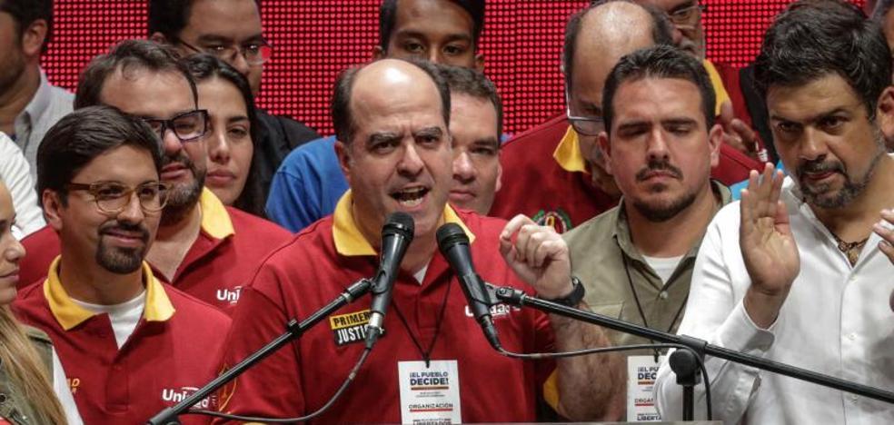La oposición de Venezuela anuncia una huelga general para el jueves