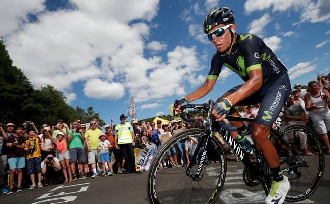 Quintana: «Sin el Giro hubiera estado al ciento por ciento» en el Tour