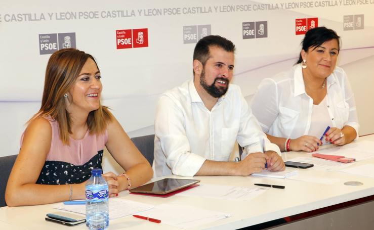 Primera reunión de la nueva ejecutiva autonómica del PSOE de Castilla y León