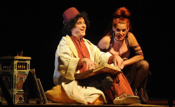 Representación de la obra 'Barataria' en el Festival de Teatro Clásico de Olmedo