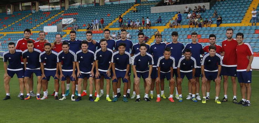 El CF Salmantino UDS parte con la idea de estar en el play-off en mayo