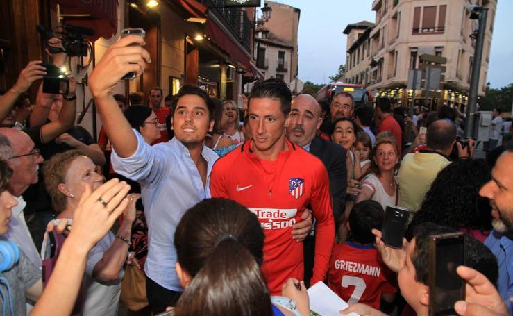 El Atlético de Madrid se va de cena a Segovia