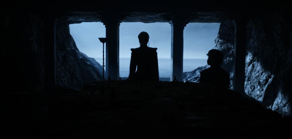 Daenerys y Jon Nieve, juntos en Rocadragón