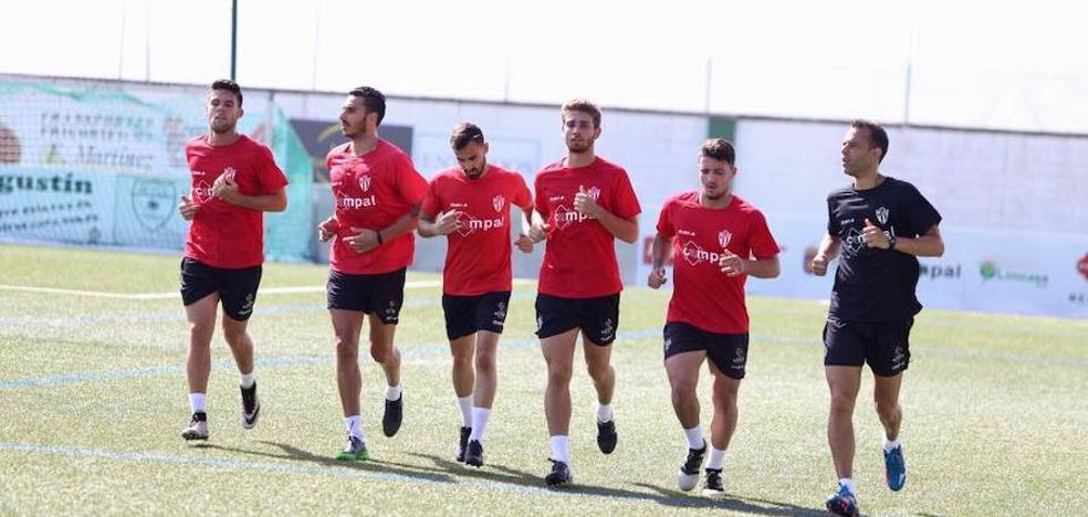 El Guijuelo estrena los amistosos ante el Sporting de Gijón
