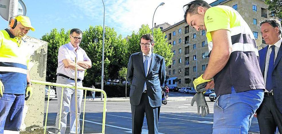 Capuchinos reforzará la seguridad vial con dos nuevas glorietas en sus cruces conflictivos