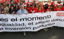 La subida salarial en Castilla y León sigue sin igualar la del conjunto de España
