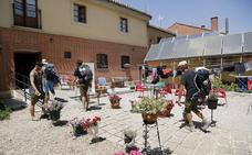El excesivo calor provoca un descenso del 11,5% de peregrinos en la primera mitad del año