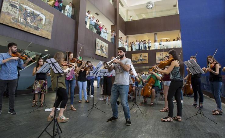El Río Hortega se convierte en un auditorio