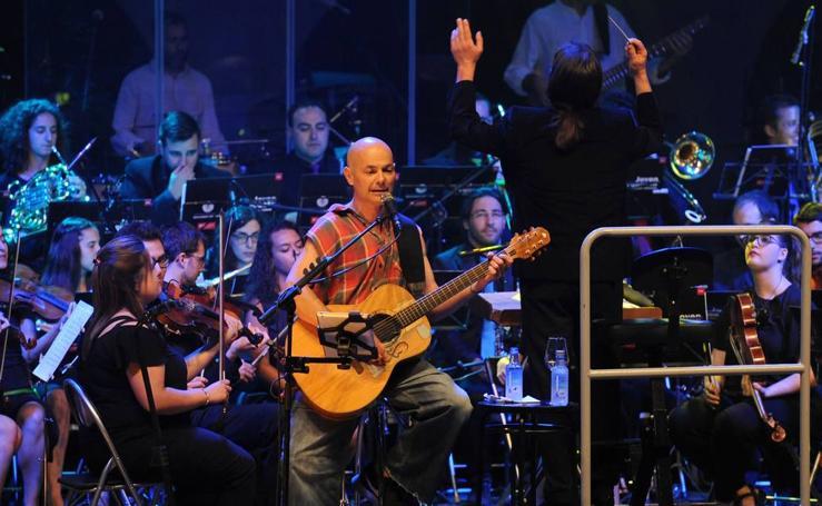 El concierto de Celtas Cortos y la JOUVa cierra el Estival 2017