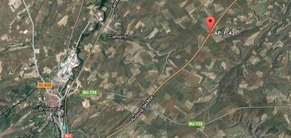 Un muerto y tres heridos graves en un accidente en Briviesca, Burgos
