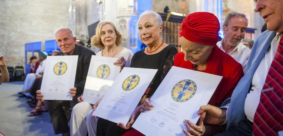 Segovia corona a Alicia Alonso y Cristina Hoyos como Embajadoras de la Danza