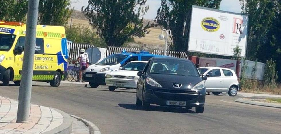 Herido un ciclista arrollado por un coche en la avenida de Cuba