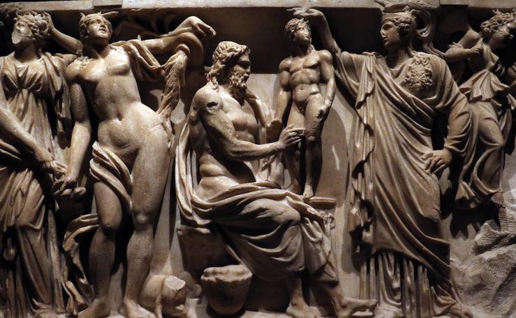 Exposición 'Hijo de Laoconte. Alonso Berruguete (1450-1561) y la antigüedad pagana', en el Palacio de Villena